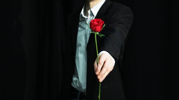 Votre accompagnateur vous offre des fleurs