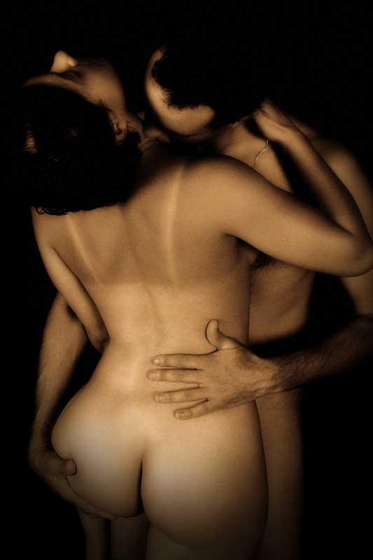 Fantasme de baiser passionné