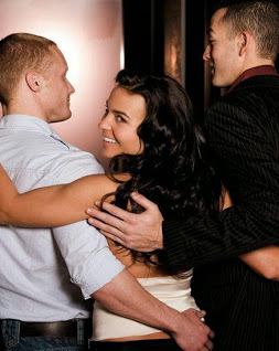 Threesome with a male escort