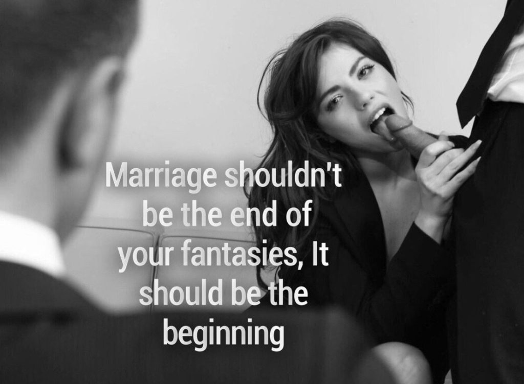Marriage shouldn't be the end of your fantasies