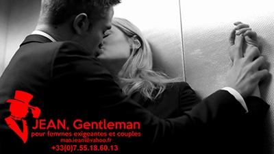 Le plaisir d'un baiser dans l'ascenseur