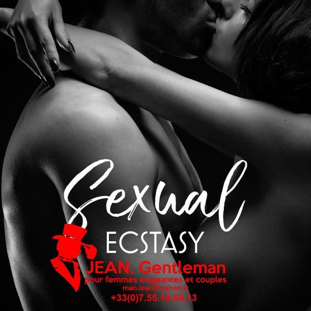 Extase sexuelle avec un escort boy