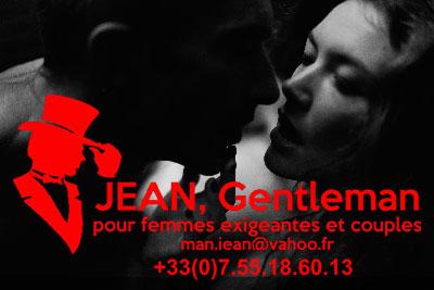 A bout de souffle avec Jean Escort Boy Paris