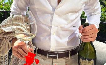 champagne avec escort boy