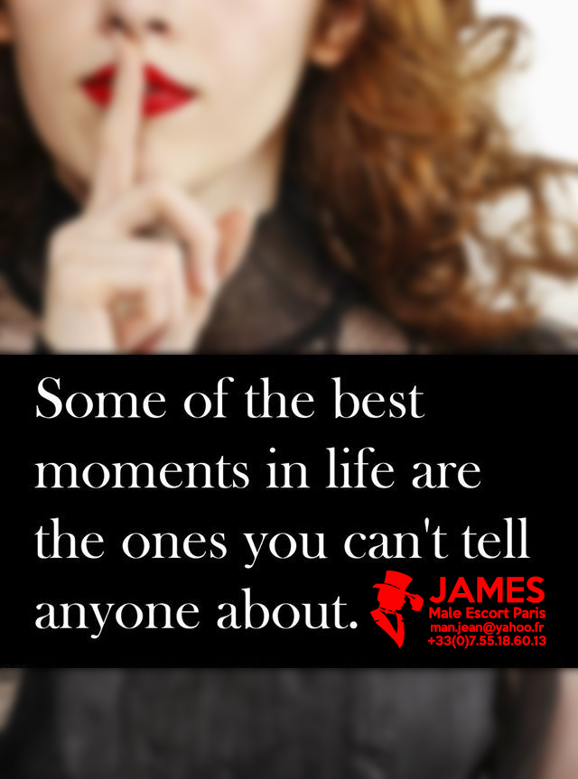 Best moments with your male escort