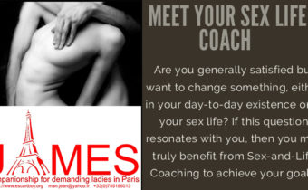 Meet your sex life coach James Male escort boy