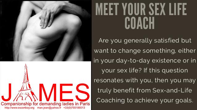 Meet your sex life coach James Male escort boy