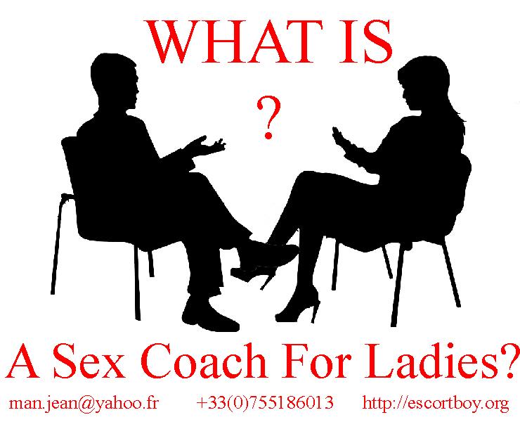Sex coach for demanding ladies