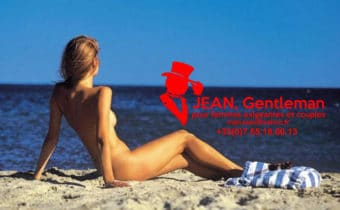Rendez-vous massage à la plage