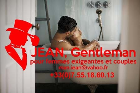 Envie de bain romantique avec un escort boy