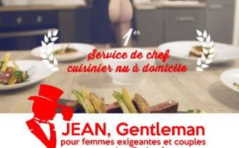 le premier service de cuisinier nu a domicile - Escort Boy Paris
