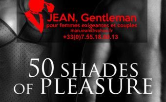 50 nuances de plaisir avec votre escort boy