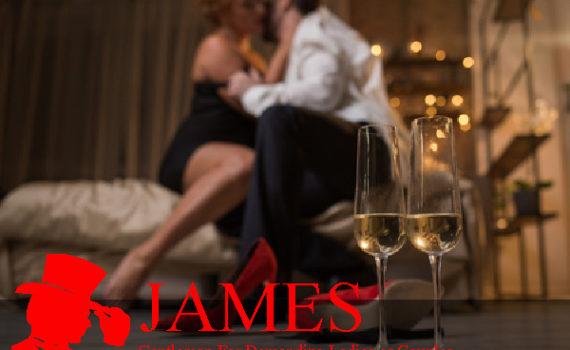 Male escort champagne experience